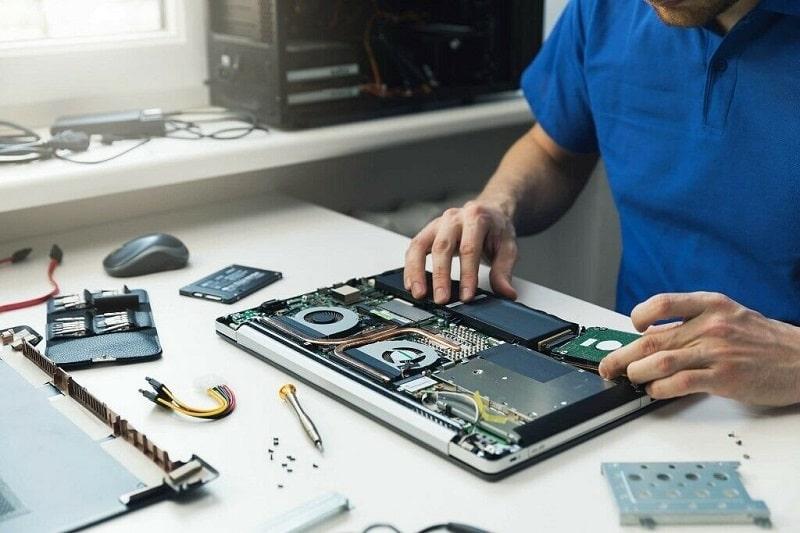 تعمیرات تخصصی لپ تاپ در محل