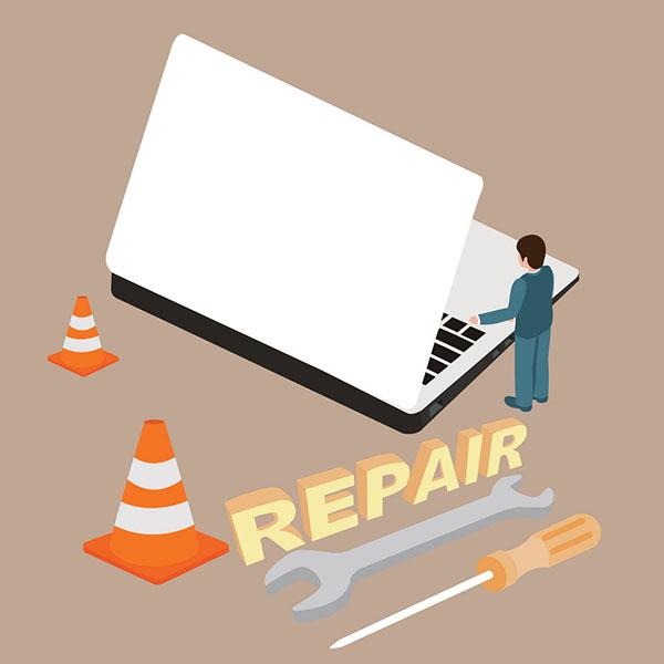 تعمیر لپ تاپ در محل