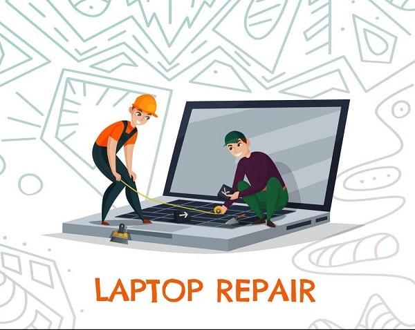 تعمیر لپ تاپ در محل با گارانتی خدمات