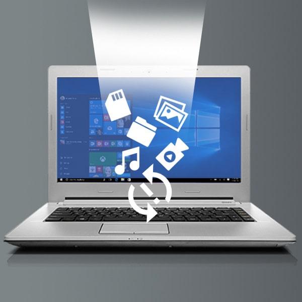 بازیابی اطلاعات هارد لپ تاپ با مشکل پیغام فرمت یا پیغام خطا