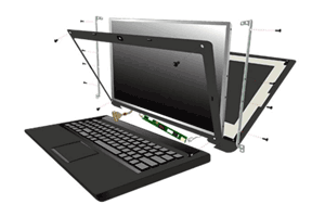 تعویض و تعمیر ال سی دی لپ تاپ