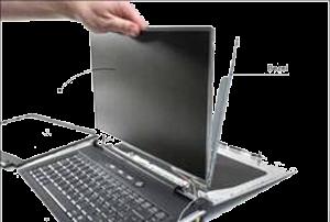 change laptop frame