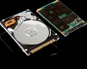 ارتقای هارد دیسک لپ تاپ به SSD