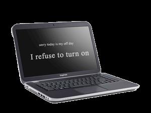 دلایل روشن نشدن لپ تاپ