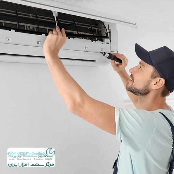 نصب کولر گازی AC