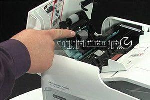 آموزش تعویض کاغذکش دستگاه کپی