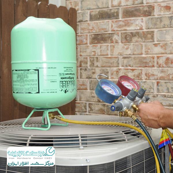 آموزش شارژ گاز کولرگازی