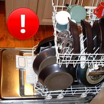 خشک نشدن ظروف در ظرفشویی