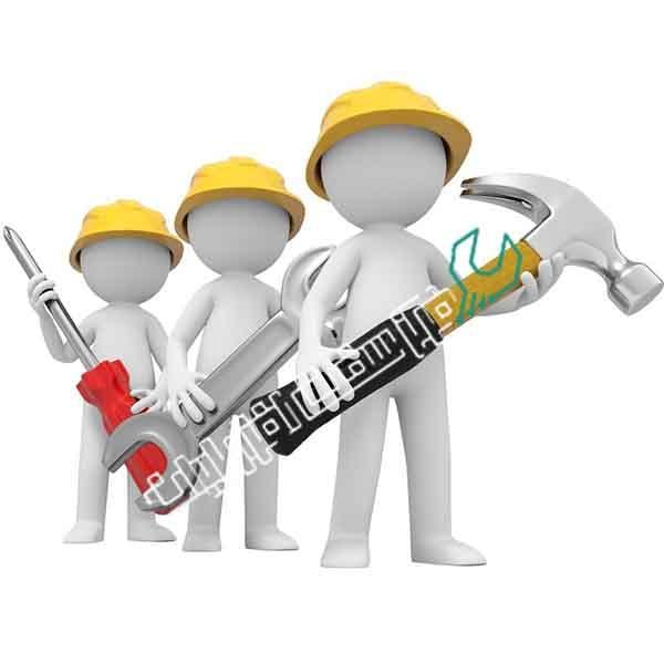 خدمات تعمیر در شهرستان ها