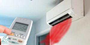 تنظیم گرمایش اسپلیت