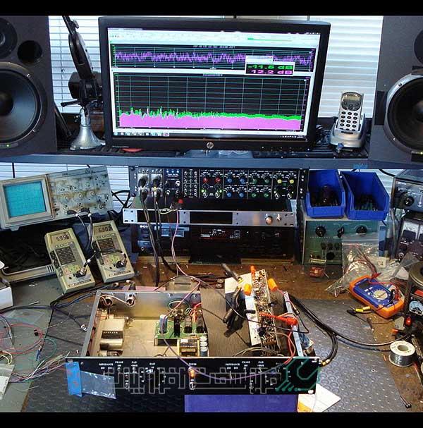 تعمیر سیستم صوتی