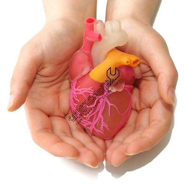 چاپ ۳ بعدی اولین قلب مصنوعی