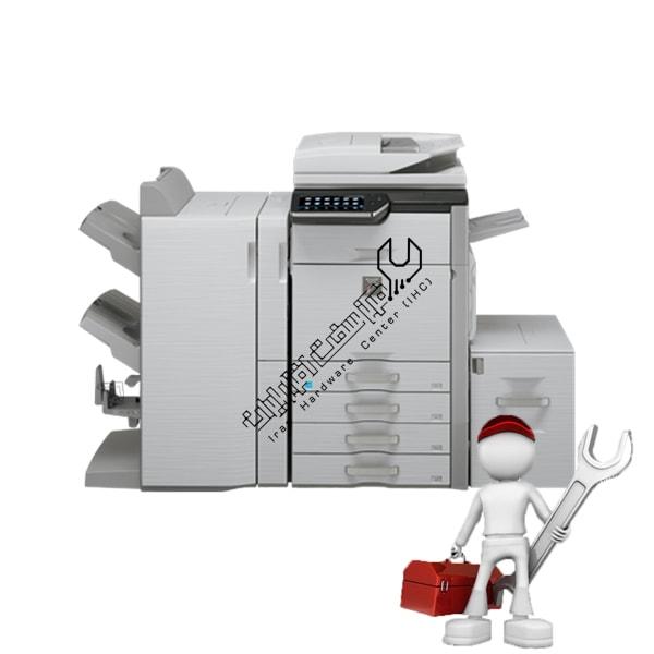 تعمیر دستگاه کپی شارپ MX4501