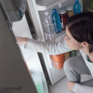 یخ زدن وسایل داخل یخچال