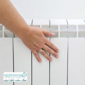 گرم نشدن رادیاتورها