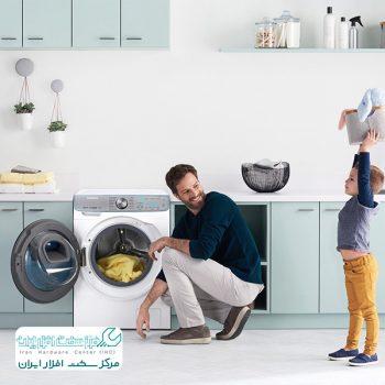 صدای ماشین لباسشویی