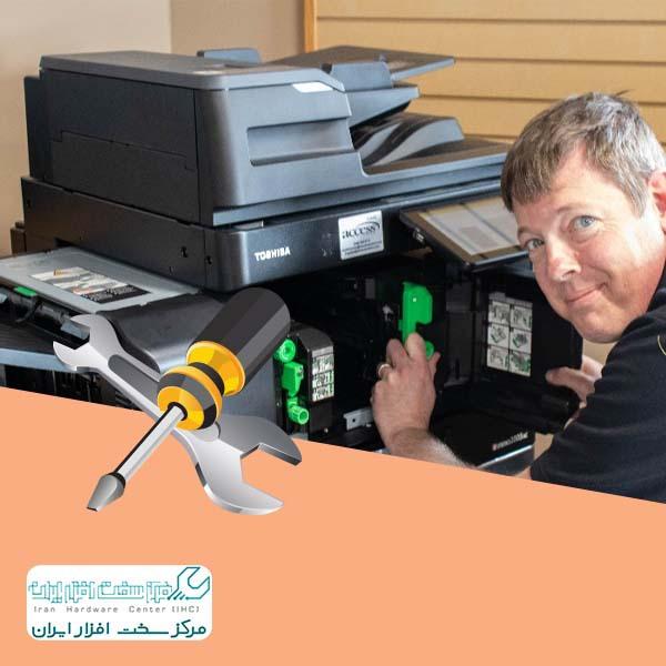 تعمیر دستگاه کپی در محل