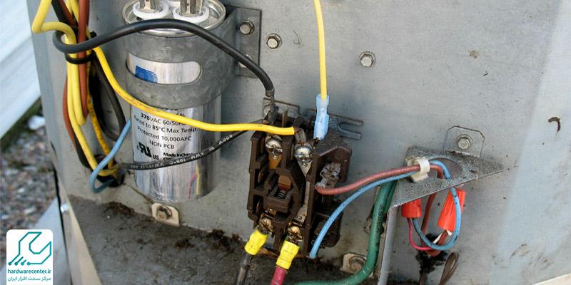 نحوه نصب خازن کولر گازی