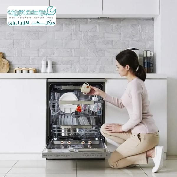 مشکلات رایج کاربران ظرفشویی ال جی