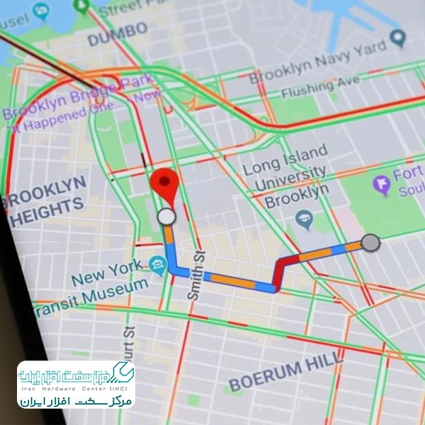 قابلیت Google Maps