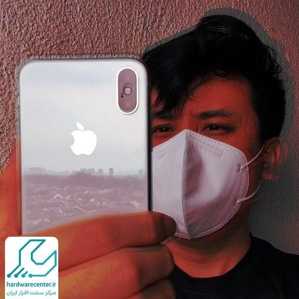 تنظیم فیس آیدی با ماسک