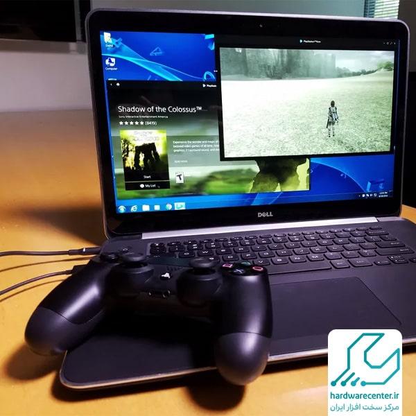 اتصال لپ تاپ به PS4