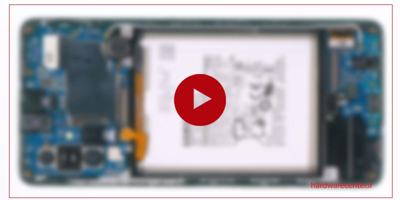 فیلم آموزش بازکردن قطعات و تعمیر گوشی Samsung Galaxy A71