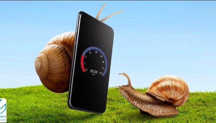 دلایل کند شدن گوشی موبایل و راه حل های رفع آن