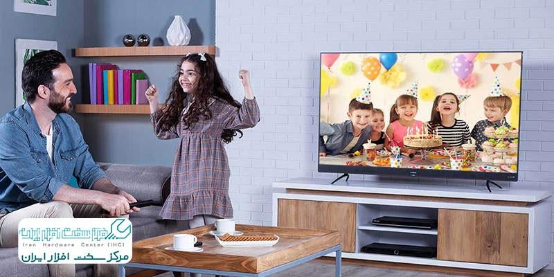 تلویزیون ال ای دی هوشمند ایکس ویژن مدل 55XTU745