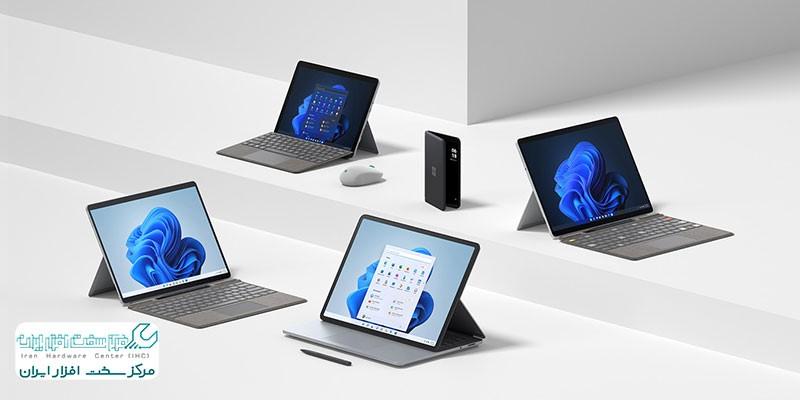 لپ تاپ های جدید مایکروسافت 2021