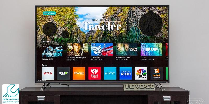 لکه سیاه روی صفحه ی تلویزیون