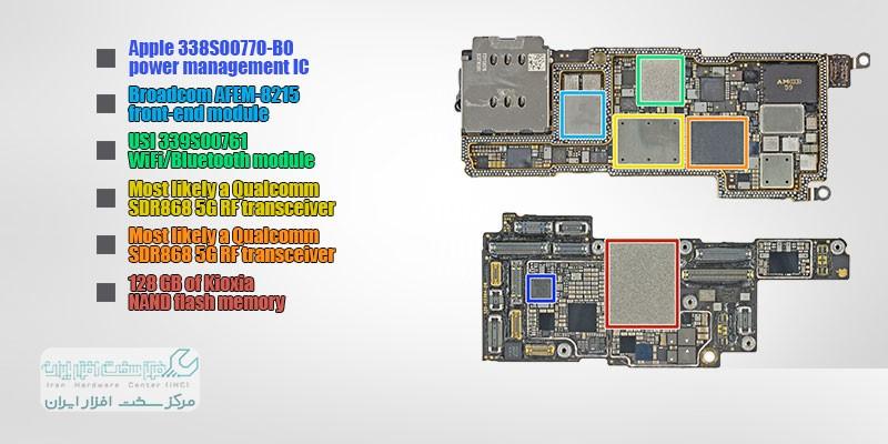 تعمیرپذیری iPhone 13